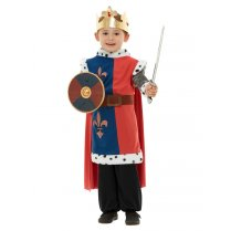 Festivalshop - Weapon set knight blue with small sword - SM44220