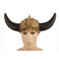 Festivalshop - Warrior viking helm dragon goud - FA34111