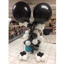 Festivalshop - Xl Balloon with clusters - FSBD0022