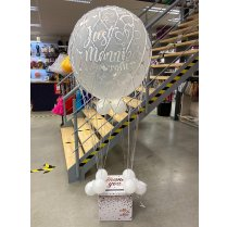 Festivalshop - XL hot air balloon with gift box - FSBD0025