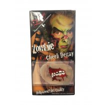 Festivalshop - Zombie Cheek Decay Wonde in Siliconen - ZO75341002