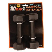 Festivalshop - black fake weights - FA43035